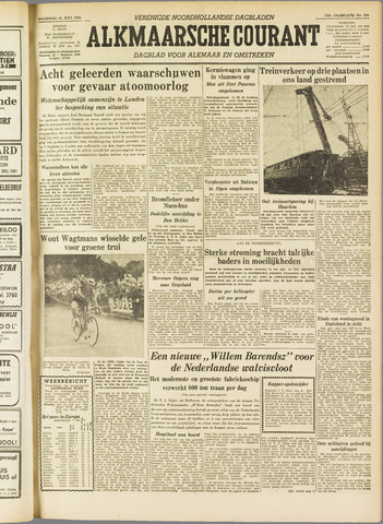 Alkmaarsche Courant 1955-07-11