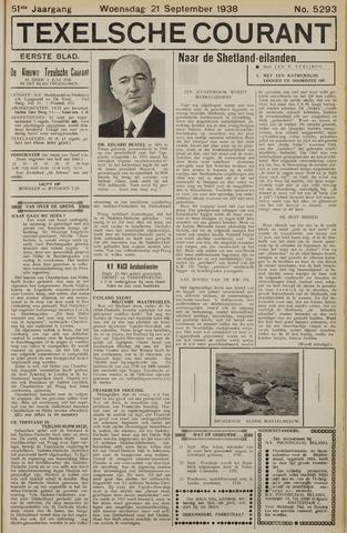 Texelsche Courant 1938-09-21