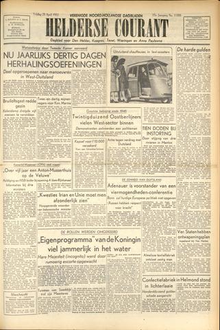 Heldersche Courant 1952-04-25