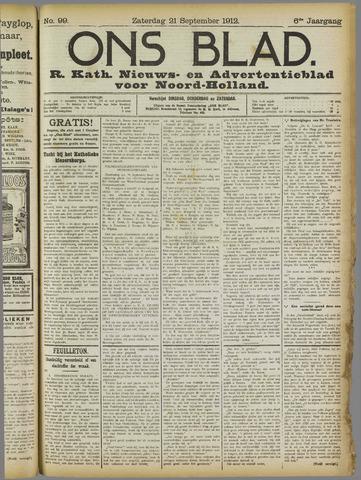 Ons Blad : katholiek nieuwsblad voor N-H 1912-09-21