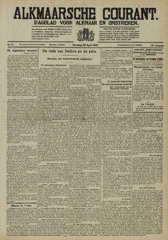 Alkmaarsche Courant 1937-04-20