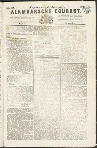 Alkmaarsche Courant 1867-09-08