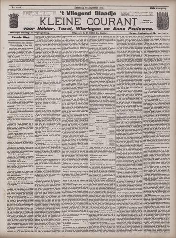 Vliegend blaadje : nieuws- en advertentiebode voor Den Helder 1913-08-23