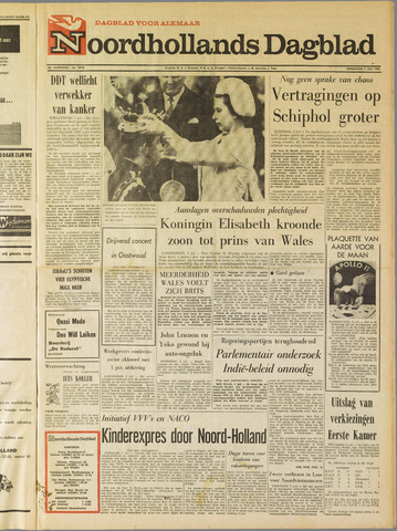 Noordhollands Dagblad : dagblad voor Alkmaar en omgeving 1969-07-02