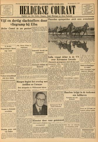 Heldersche Courant 1954-01-11