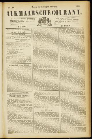 Alkmaarsche Courant 1885-07-26