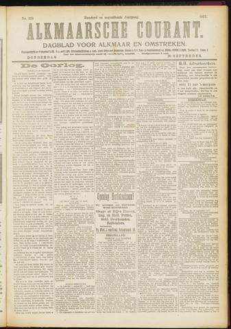 Alkmaarsche Courant 1917-09-20