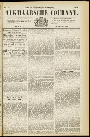 Alkmaarsche Courant 1891-12-20
