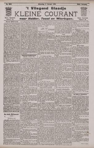 Vliegend blaadje : nieuws- en advertentiebode voor Den Helder 1902-02-05