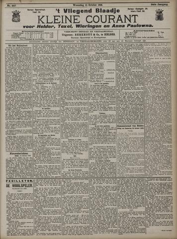 Vliegend blaadje : nieuws- en advertentiebode voor Den Helder 1906-10-31