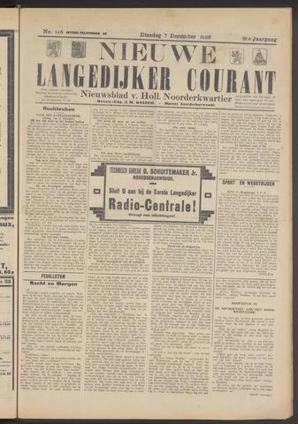 Nieuwe Langedijker Courant 1926-12-07
