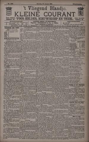 Vliegend blaadje : nieuws- en advertentiebode voor Den Helder 1894-01-20