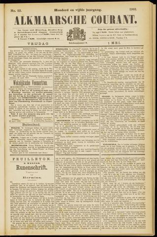 Alkmaarsche Courant 1903-05-01