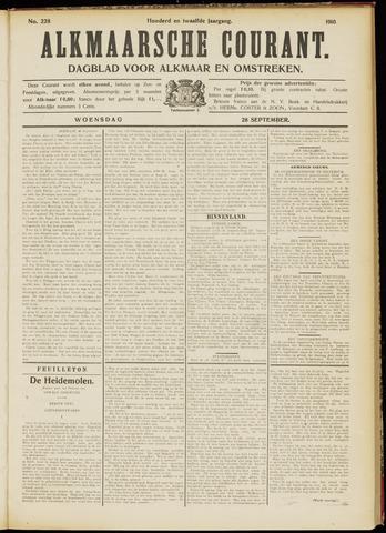 Alkmaarsche Courant 1910-09-28