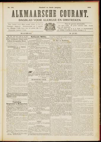 Alkmaarsche Courant 1908-06-22
