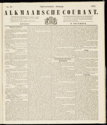 Alkmaarsche Courant 1873-12-21