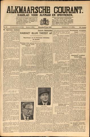 Alkmaarsche Courant 1937-06-21