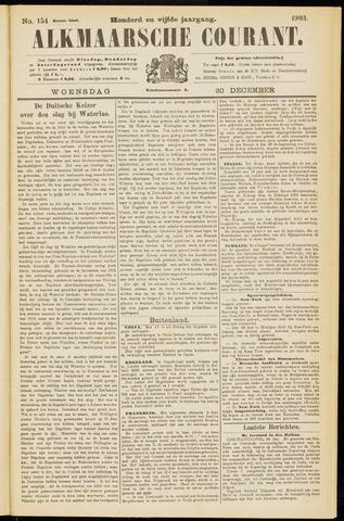 Alkmaarsche Courant 1903-12-30