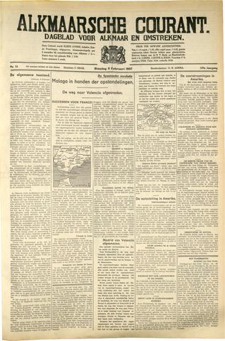 Alkmaarsche Courant 1937-02-09
