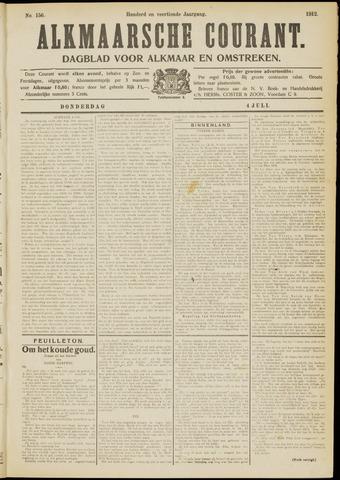 Alkmaarsche Courant 1912-07-04