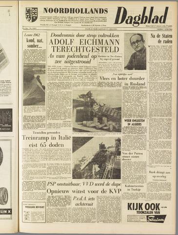 Noordhollands Dagblad : dagblad voor Alkmaar en omgeving 1962-06-01