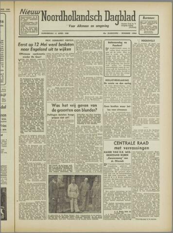 Nieuw Noordhollandsch Dagblad : voor Alkmaar en omgeving 1946-04-11