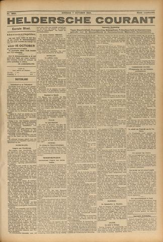 Heldersche Courant 1924-10-07