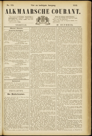 Alkmaarsche Courant 1882-10-20