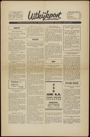 Uitkijkpost : nieuwsblad voor Heiloo e.o. 1956-06-01