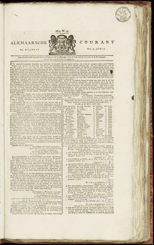 Alkmaarsche Courant 1827-04-23