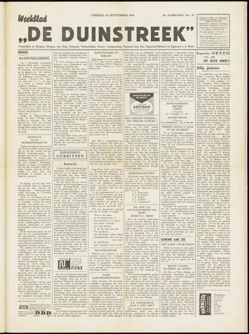 De Duinstreek 1954-09-10