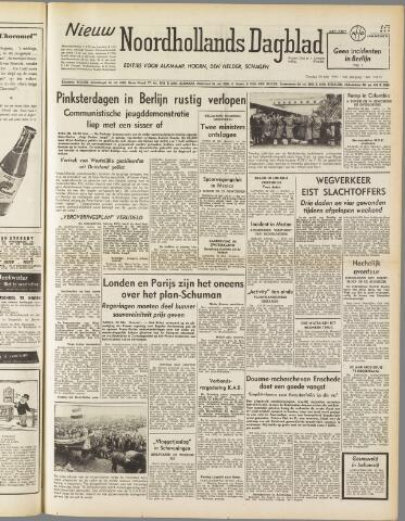 Nieuw Noordhollandsch Dagblad : voor Alkmaar en omgeving 1950-05-30