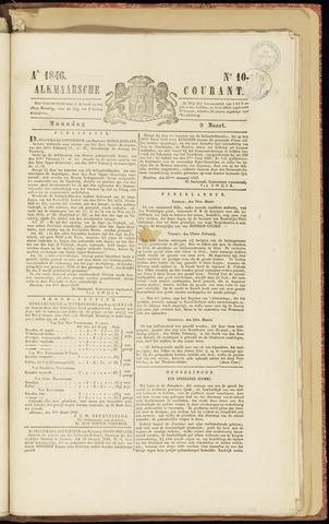 Alkmaarsche Courant 1846-03-09