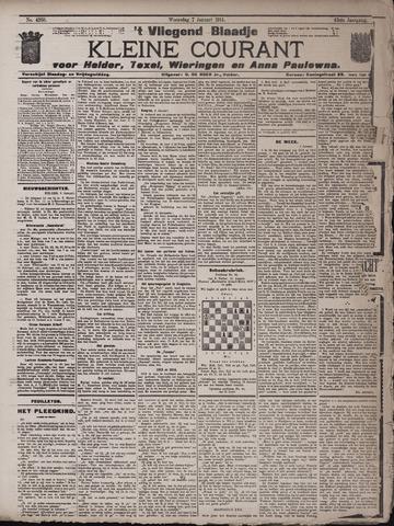 Vliegend blaadje : nieuws- en advertentiebode voor Den Helder 1914-01-07