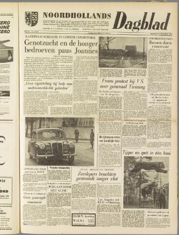 Noordhollands Dagblad : dagblad voor Alkmaar en omgeving 1959-12-15