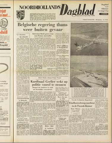 Noordhollands Dagblad : dagblad voor Alkmaar en omgeving 1953-02-27
