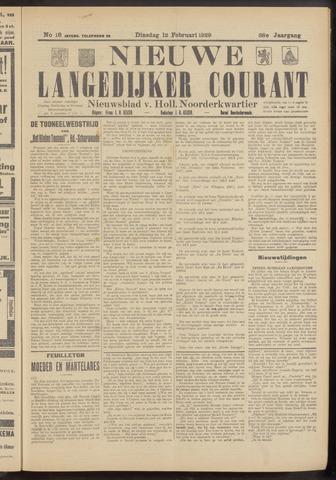 Nieuwe Langedijker Courant 1929-02-12