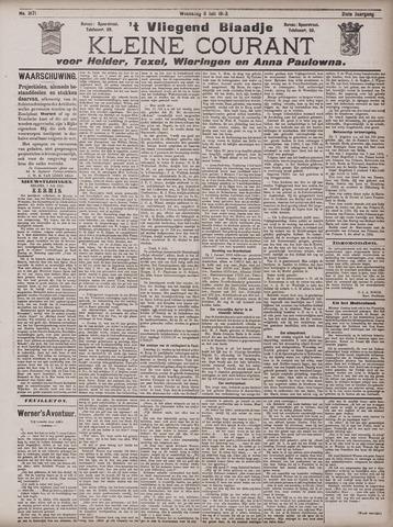 Vliegend blaadje : nieuws- en advertentiebode voor Den Helder 1903-07-08