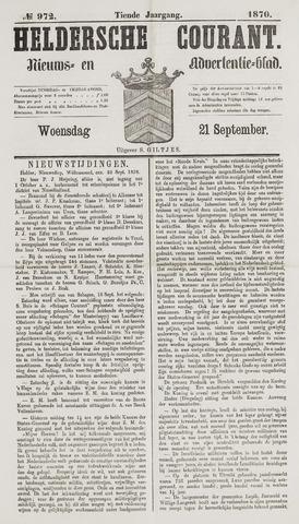 Heldersche Courant 1870-09-21