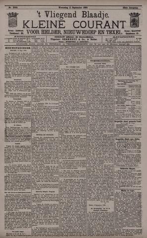 Vliegend blaadje : nieuws- en advertentiebode voor Den Helder 1895-09-11