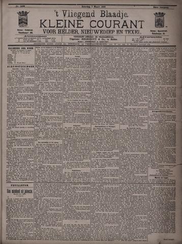 Vliegend blaadje : nieuws- en advertentiebode voor Den Helder 1896-03-07