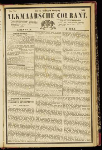 Alkmaarsche Courant 1884-07-02