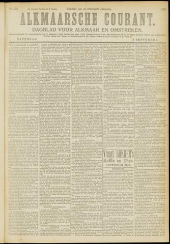 Alkmaarsche Courant 1919-09-06