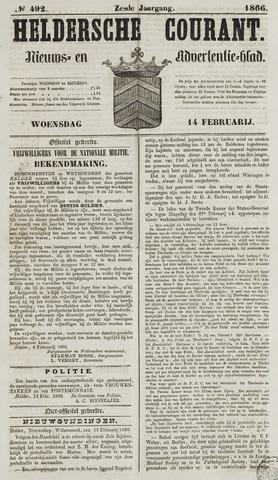 Heldersche Courant 1866-02-14