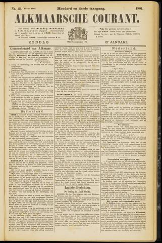 Alkmaarsche Courant 1901-01-27