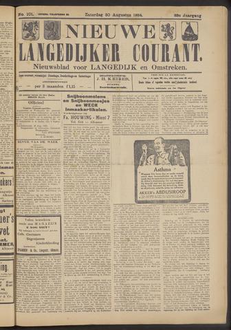 Nieuwe Langedijker Courant 1924-08-30