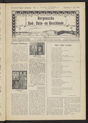 Bergensche bad-, duin- en boschbode 1947-07-05