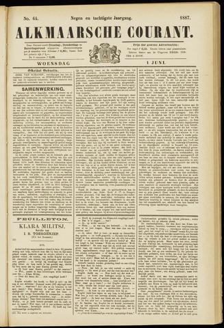 Alkmaarsche Courant 1887-06-01