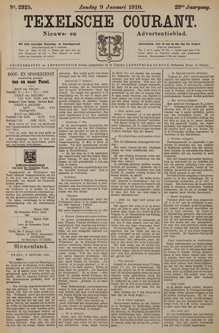 Texelsche Courant 1910-01-09