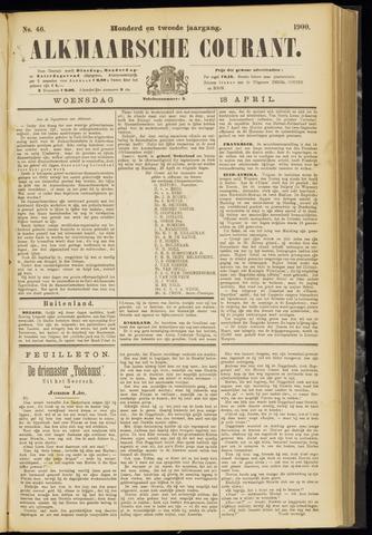 Alkmaarsche Courant 1900-04-18